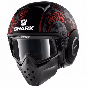 SHARK DRAK SANCTUS Mat KRA BLACK RED A