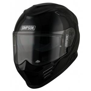 Simpson Helmet Venom Black Met logo