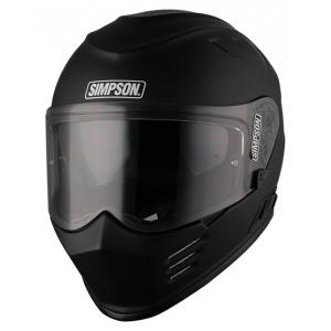 Simpson Helmet Venom Matt Blac logo