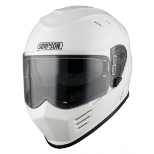 Simpson Helmet Venom White (MA logo
