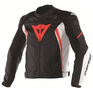 AVRO D1 LEATHER JACKET logo