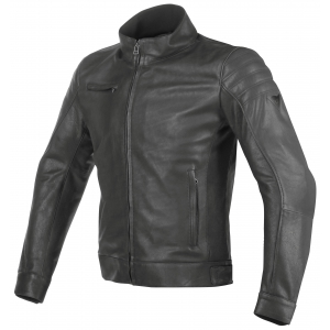 BRYAN LEATHER JACKET 001 BLACK