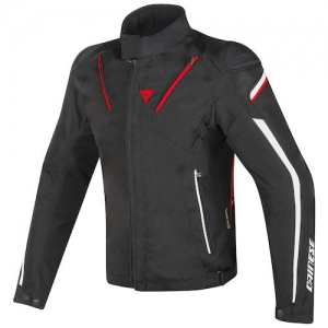 STREAM LINE D-DRY JACKET 678 BLACK/RED/W
