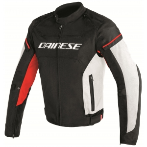 D-FRAME TEX JACKET 858 BLACK/WHITE