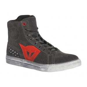 STREET BIKER D-WP SHOES C59 CARBON-DARK