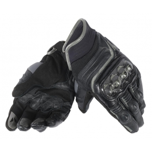 CARBON D1 SHORT GLOVES 691 BLACK/BLACK