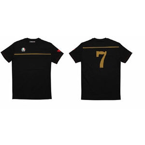 FAST-7 T-SHIRT 885 BLACK/GOLD