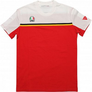 FAST-7 T-SHIRT 602 WHITE/RED