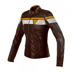 BLACKJACK LADY LEATHER JACKET logo