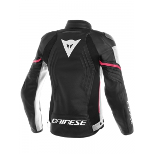 RACING 3 LADY LEATHER JACKET logo