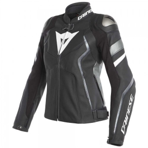*AVRO 4 LADY LEATHER JACKET 26A BLACK-MATT/