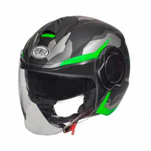 COOL HELM CAMO GREEN FLUO BM logo