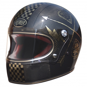 TROPHY HELM CARBON NX GOLD CHR logo