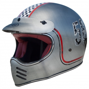 TROPHY MX HELM FL CHROMED logo