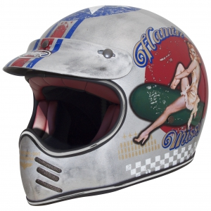TROPHY MX HELM PIN UP OLD STYL no -