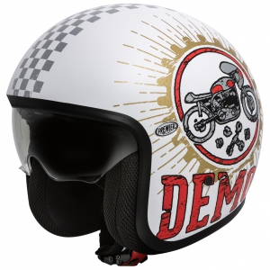 VINTAGE JETHELM SPEED DEMON 8 logo