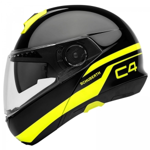 Schuberth, C4 Pulse black logo
