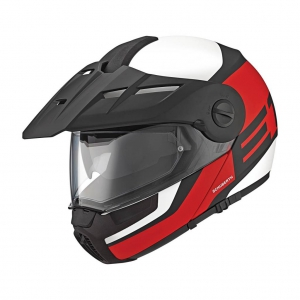 Schuberth, E1 Guardian red logo