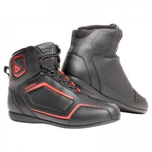 RAPTORS D-WP SHOES P75 BLACK/red
