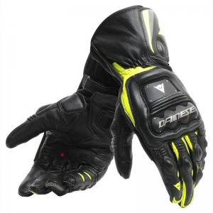 STEEL-PRO GLOVES 620 BLACK/FLUO-