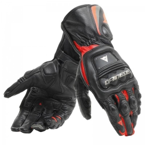 STEEL-PRO GLOVES 628 BLACK/FLUO-