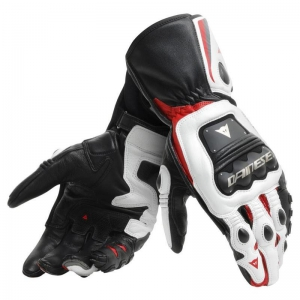 STEEL-PRO GLOVES 858 BLACK/WHITE