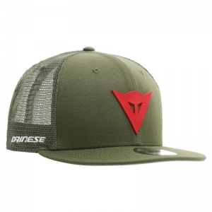 DAINESE 9FIFTY TRUCKER SNAPBAC L48 GREEN/RED