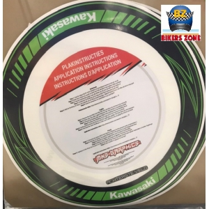 KAWA RIM WRAP BLACK-GREEN logo