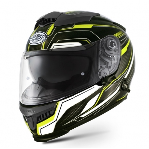 TOURAN HELMET YELLOW logo
