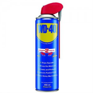 WD40 450ml multispray logo