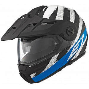 Schuberth, E1 Hunter blue logo