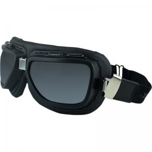 Goggle Pilot black logo
